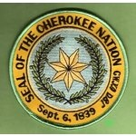 cherokee tribe flag