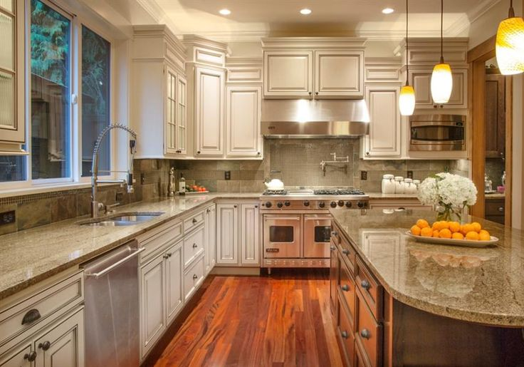 More slate backsplash  Kitchen Ideas  Pinterest