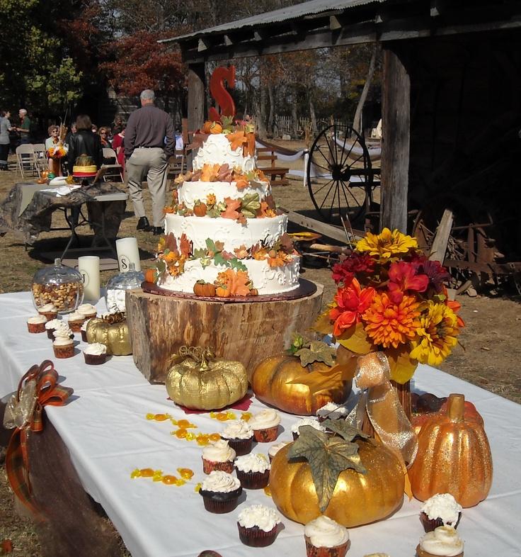 Beautiful Fall Wedding Cake Wedding Ideas Pinterest