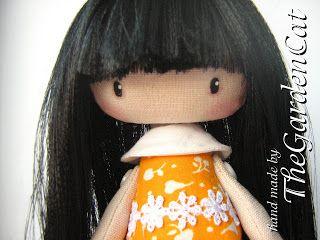 Волосы для куклы из пряжи мастер класс - c6ed5