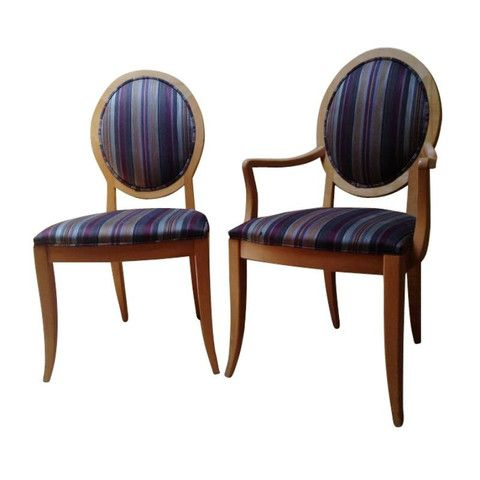 set of 8 ethan allen dining room chairs diy inspiration pinterest