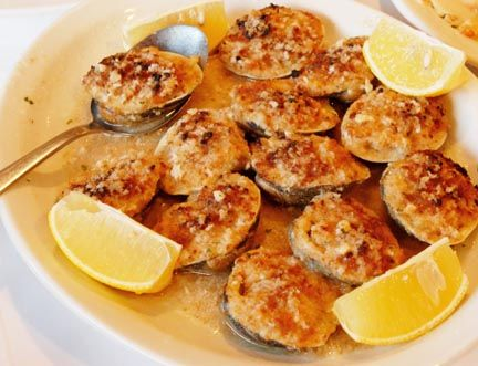 Baked clams | Nommers | Pinterest