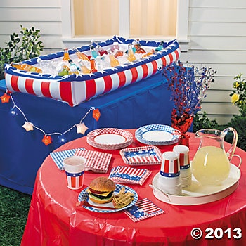 4th of july outdoor decorations pinterest