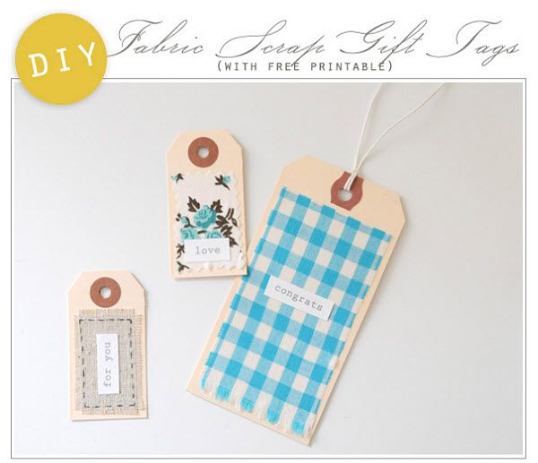 Homemade Wedding Gift Tags : DIY Fabric Favor Tags #wedding wedding Pinterest