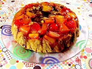 Pineapple Upside down Caramel Swirl Cake | NoM NoMs | Pinterest