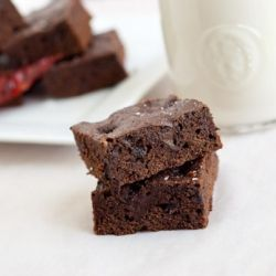 Amazing Ancho Chili Chocolate Brownies | just chocolate | Pinterest