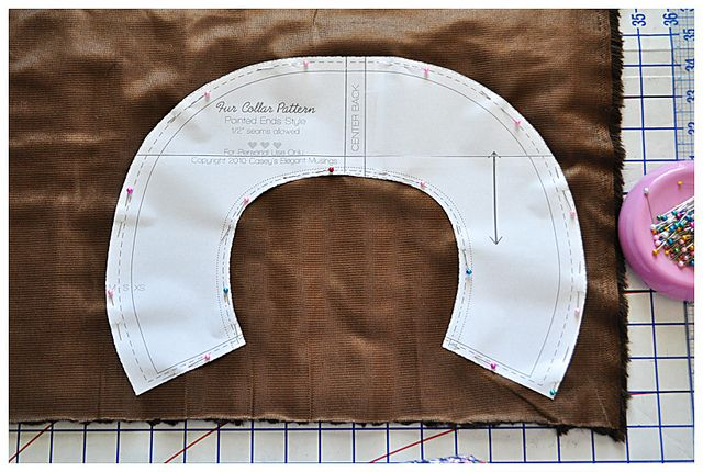 how to make a collar pattern