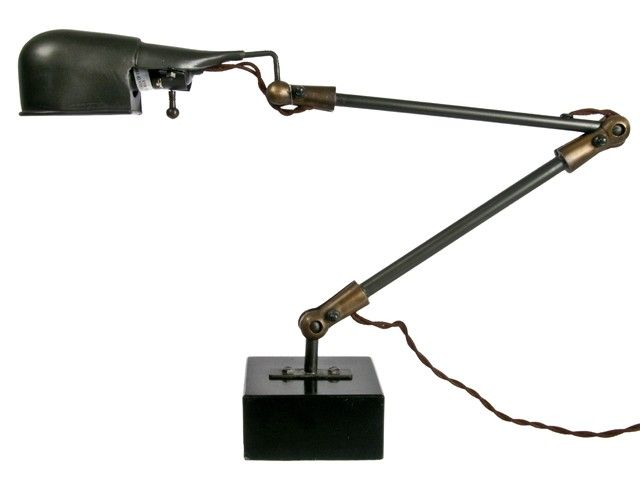 Vintage Reproduction Industrial Desk Lamp Or Task Light