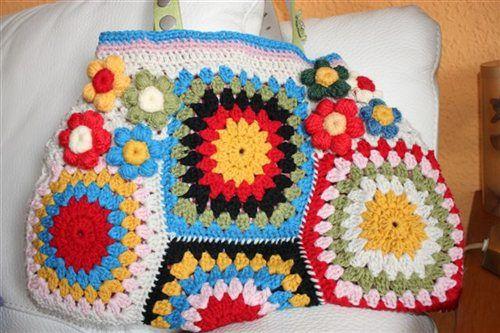 Crochet Me : crochet bag - Crochet Me Crochet bags Pinterest