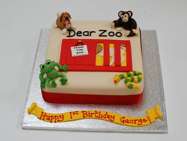 zoo cakes pictures