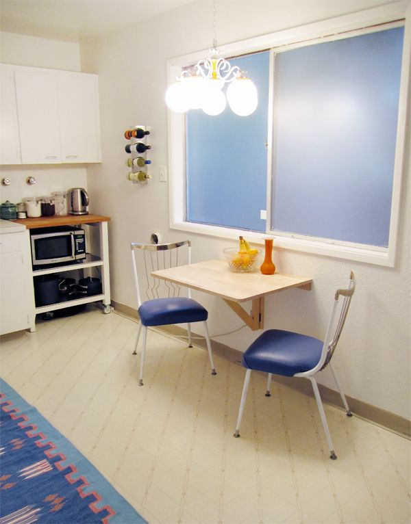 wall mounted kitchen table home