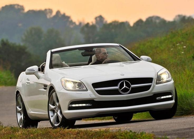 2012 Mercedes-Benz SLK350 front side