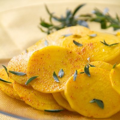 Savory and Spice Golden Beet Salad | Recipe