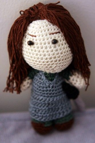 Crochet Patterns Game Of Thrones : Game of Thrones - Arya Stark Crochet Doll Game of Thrones ...