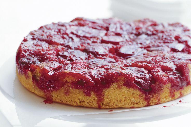 Upside down plum cake | { I love cake! } | Pinterest