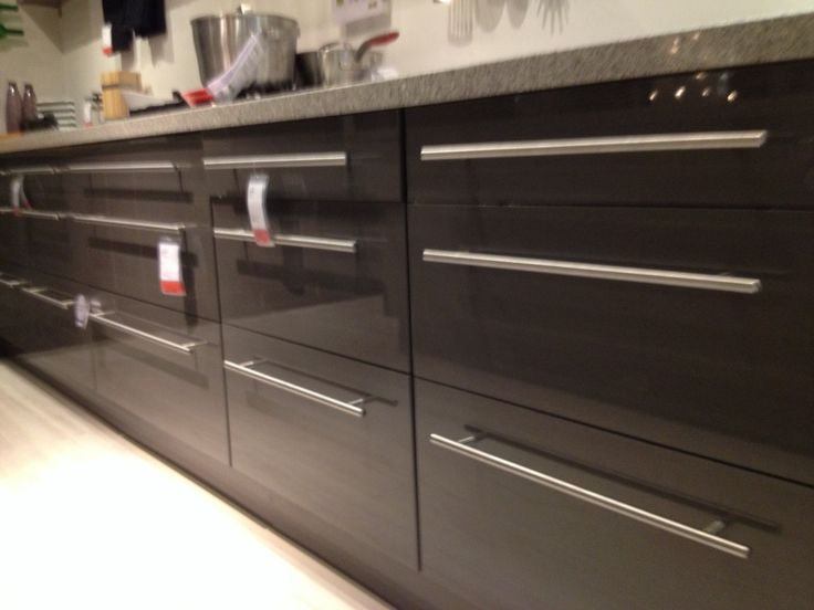 Hoogglans Keuken Ikea : Ikea keuken grijs hoogglans abstract Kitchens Pinterest