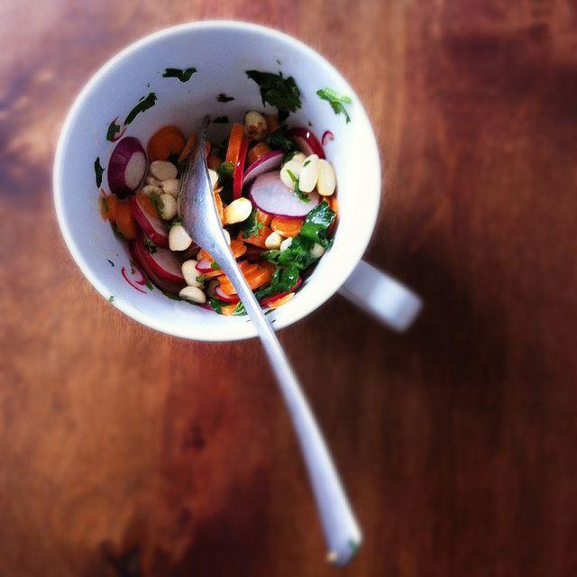 ... Preserved, via Flickr: Quick Market Salad: Carrot, Radish and Peanut