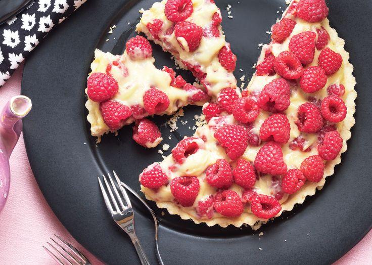 raspberry cream tart | pies, cakes & tarts | Pinterest