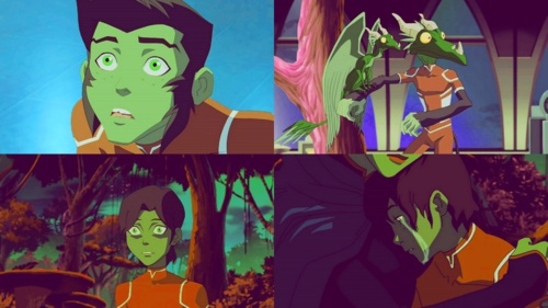 Young JusticeYoung Justice Beast Boy Transformations