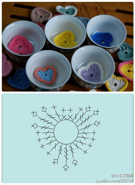 Crochet Cuore - Grafico