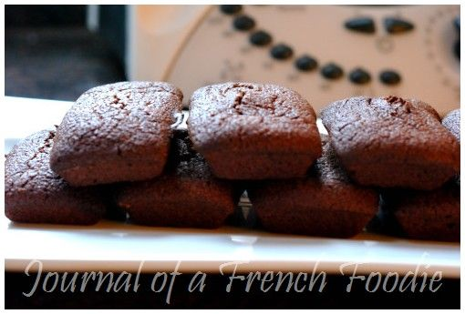 chocolate financiers (great use for left over egg whites!)