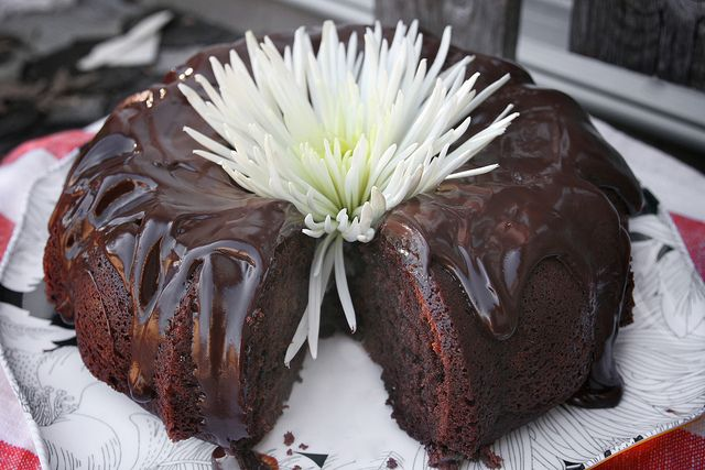 Sour Cream Blood Orange Bundt Cake With Cocoa Filling Recipes ...