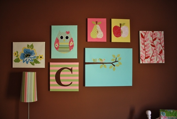 DIY Nursery Canvas Baby Galindo Pinterest