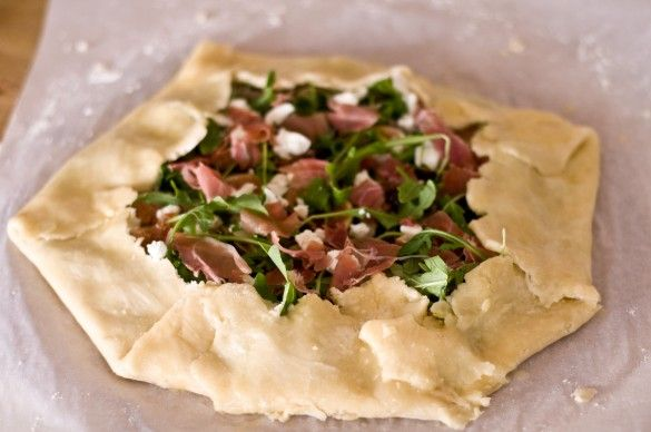 Fig and Goat Cheese Galette - Domestic Fits