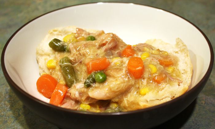 skinny chicken pot pie skinny mom tips for moms fitness food fashion ...