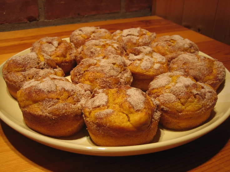 Cinnamon Crunch Sweet Potato Muffins