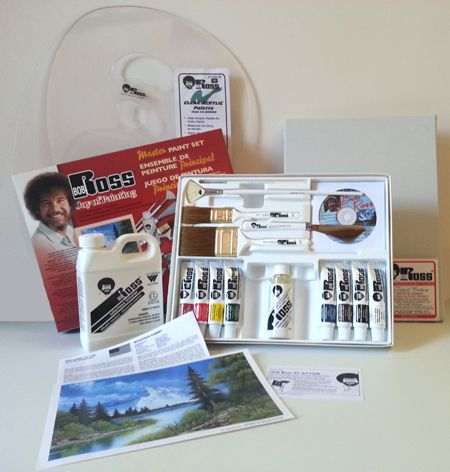 Painting Supplies: Painting Supplies For Bob Ross