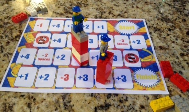 Lego game, kids love it, pre-kindergarten, kindergarten game, helps with math!
