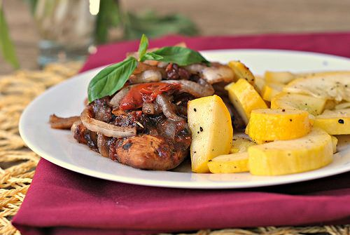 Braised Balsamic Chicken | Dinner Recipes | Pinterest