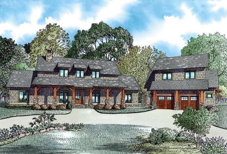 Country Craftsman Farmhouse House Plan 82085