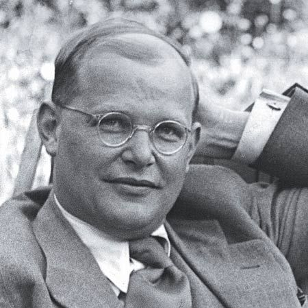 Dietrich Bonhoeffer, such a courageous man of faith.