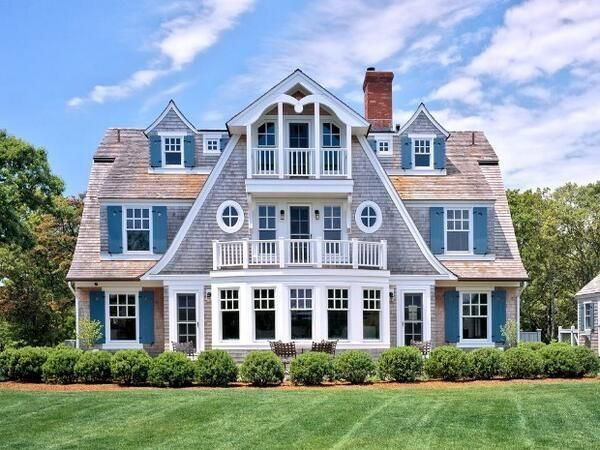 Cape Cod House Design Fine Homes Barns Pinterest