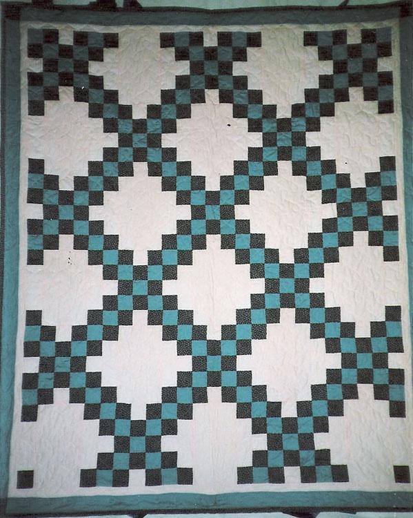 Quilt Pattern For Double Irish Chain : Pinterest