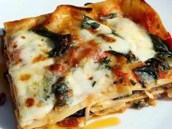 roasted ratatouille lasagna napoleons | PASTA & PIZZA | Pinterest