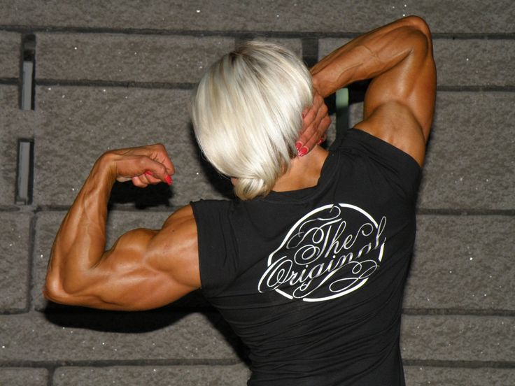 Brigita Brezovac #female #muscle | Female Fitness | Pinterest