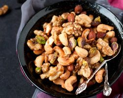 Sweet and Spicy Holiday Nuts | Easy Asian Recipes at RasaMalaysia.com ...