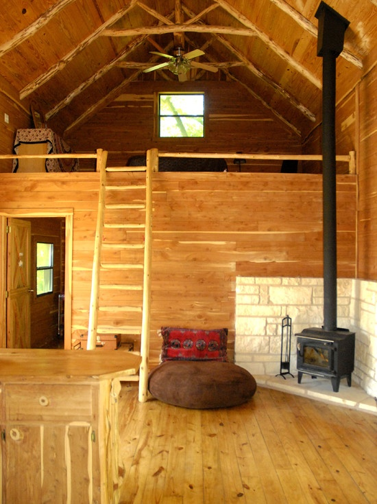 Pin by lyndsey townsend on for the home indoors outdoors for Cabin loft bedroom ideas
