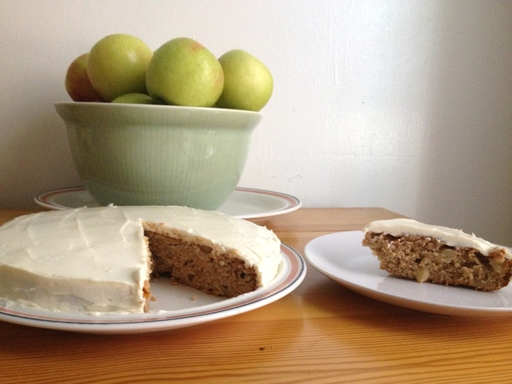 Roasted Apple Spice Cake | Adventures with My Oven | Pinterest