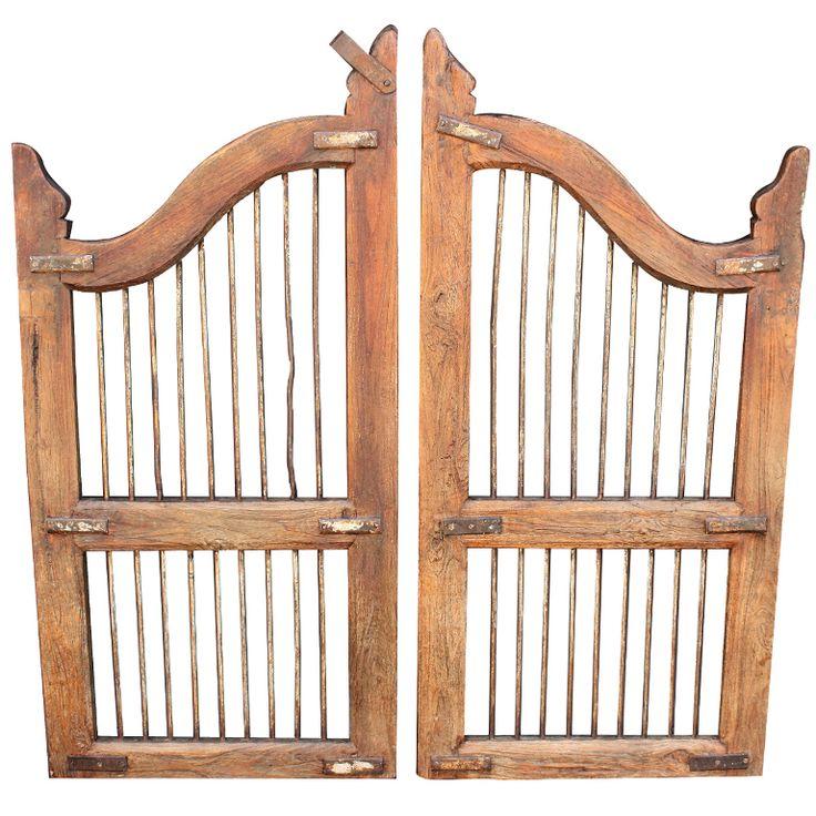 Wooden dog gates england 19th c inside decor pinterest