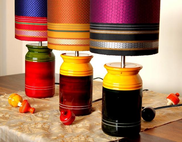 Cool!! Pickle Jar Lamps