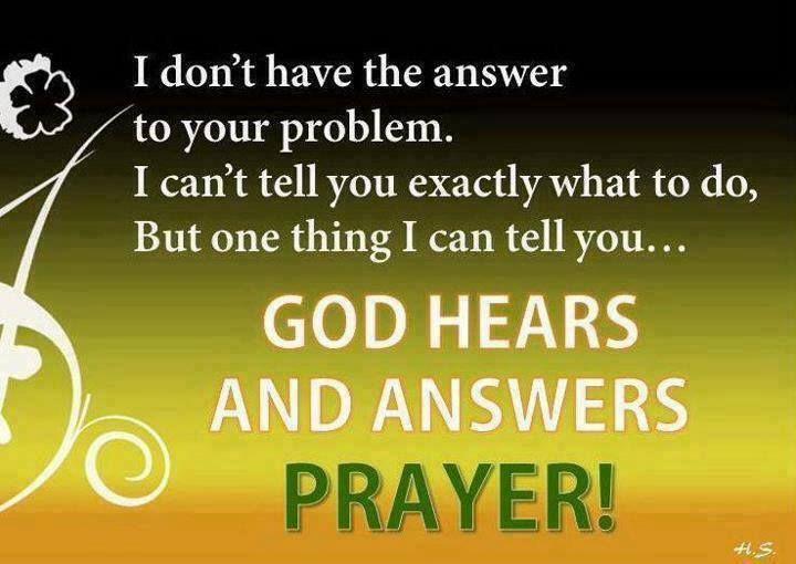 God Hears Amp Answers Prayers