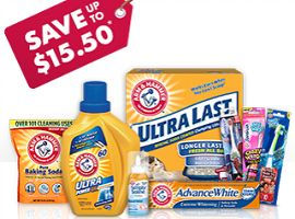 coupons for arm and hammer laundry detergent 2014
