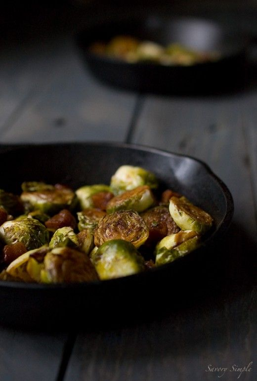Brown Sugar Bacon Brussels Sprouts | must try recipes | Pinterest