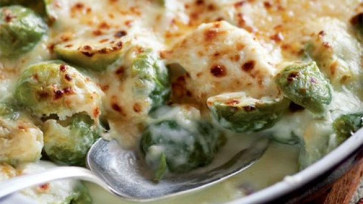 Brussels sprouts gratin | Recipes | Pinterest