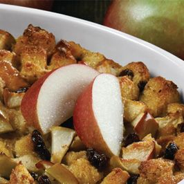 Apple-Raisin Bread Pudding This apple-raisin baked treat is simple ...