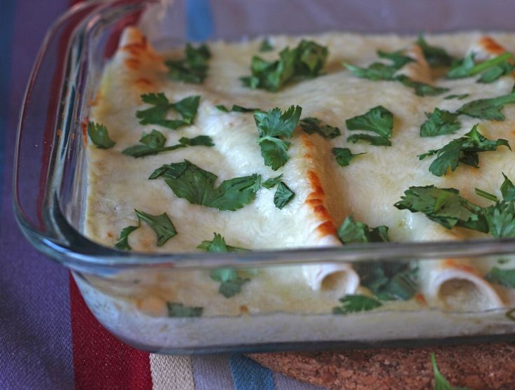 Spinach and Mushroom Enchiladas - From Calculu∫ to Cupcake∫